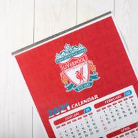 Kalender Bola Tahun 2021 - Liverpool (Free Gantungan Kunci)