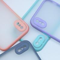 All Type - Hard Case Bumper Candy Macaron Lens Protect Lensa