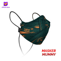 Masker Kain Non Medis Footstep Footwear – Earloop Mask Stylo Mummy