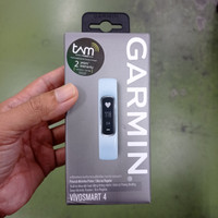 Garmin Vivosmart 4 New Original BNOB buka box buat cek kelengkapan