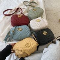 SZ40778 Tas Selempang Wanita Gucci GG Marmount Camera Mini Bag