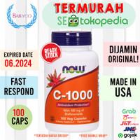 NOW FOODS FOOD Vitamin C 1000 C-1000 C1000 - 100 Veg Caps