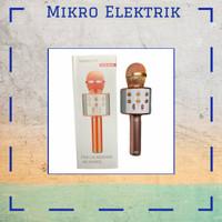 Microphone Original Wster Bluetooth Wireless Karaoke Ws-858 Rose Gold
