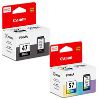 Tinta Catridge Canon pixma PG 47 + CL 57 Original for :E400,E460