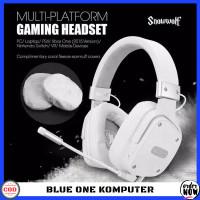 Headset Gaming Sades Snowwolf Garansi Resmi Terlaris
