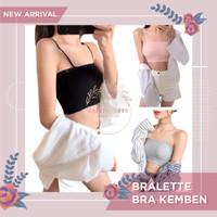 Bralette Bra Tube Kemben Tank Top BH Sport Bra Tidur Dalaman Wanita