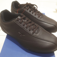 Sepatu Golf Mizuno. Type Walking Style 001. Dark brown.