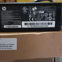 NEW Baru Charger Casan Adaptor Laptop HP mato Jarum Biru ORI PALEMBANG