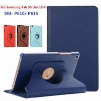 Samsung Galaxy Tab S6 Lite SM-P615 Rotary Flip Book Cover Case Casing