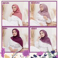 Jilbab Riana Square - Hijab Segiempat Murah by Friana Katalog 1 - Darwin