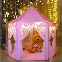 Tenda Princess Kelambu / Tenda Anak Castle Istana Princess
