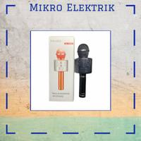 Microphone Original Polaris Bluetooth Wireless Karaoke PL-858 Hitam