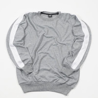 Sweater Basic Crewneck Abu Misty Unisex Premium Quality