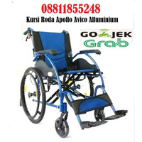Dijual Kursi Roda Apollo Avico - Kursi roda Alluminium - Biru