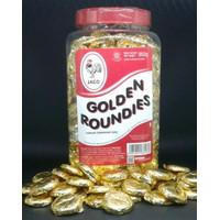 Golden Roundies Coklat Coin