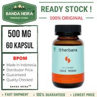 Herbana Jahe Merah 60 Kapsul 500 Mg