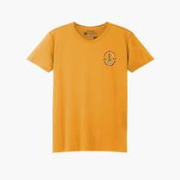 Geoff Max Official - Kaika Yellow Mustard   T-Shirt Pria   Kaos Pria