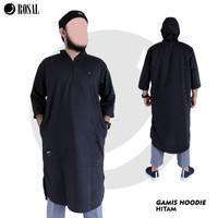 ROSAL GAMIS HOODIE - Baju Kurta Pakistan Model Panjang - Pria