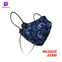 Masker Kain Non Medis Footstep Footwear – Earloop Mask Stylo Atari