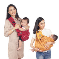 Dialogue Baby Gendongan Samping 4 In 1 M - Shape Dino Series DGG4248