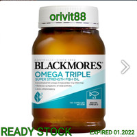 BLACKMORES OMEGA TRIPLE SUPER STRENGTH FISH OIL 150 KAPSUL