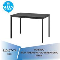 Meja Makan / Kerja / Belajar/Serbaguna TARRENDO, Hitam, 110x67 cm