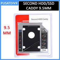 SSD HDD Caddy Slim 9.5mm SATA DVD HARDDISK LAPTOP NOTEBOOK CASING