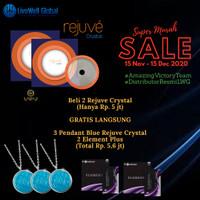 SALE LWG Rejuve Crystal Blue Pendant Element Plus