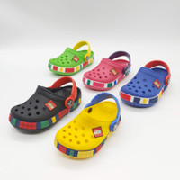 Sendal Anak Sendal Crocs Lego Original