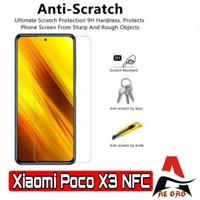 Tempered Glass XIAOMI POCO X3 NFC Screen Protection Anti Gores Kaca