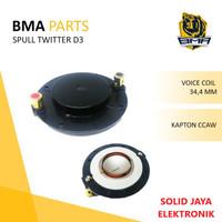 SPUL SPULL TWITTER TWITER BMA D3 D-3 D 3 RECONE KIT SPOL SPOOL ASLI