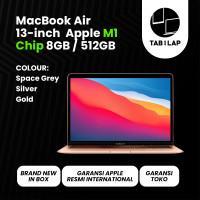 Apple Macbook Air 2020 M1 Chip MGN73 MGNA3 MGNE3 13 Inch 8GB SSD 512GB - MGNE3
