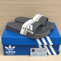 Sandal Adidas Adilette Slide Pria Motif Black Import