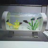 aquarium mini unik akrilik panjang