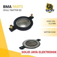 SPUL SPULL TWITTER TWITER BMA D5 D-5 D 5 RECONE KIT SPOL SPOOL ASLI