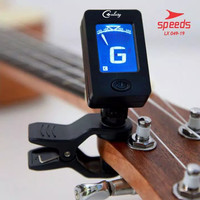 Tuner Gitar Digital Chromatic Clip On Untuk Guitar Bass Ukulele 049-19