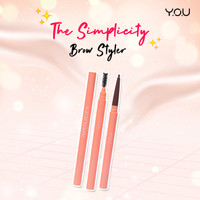 YOU The Simplicity Trio Brow Sculptor by You Makeup - Natural Brown