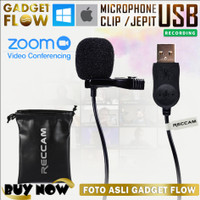 Mic Microphone Clip On USB ANDOER PC Laptop Computer 150cm Portable