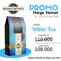 Teh Organik    Teh Putih ( Bankitwangi Organic White Tea ) 36 gr