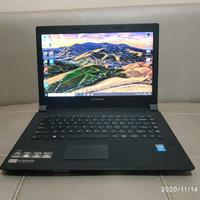 LAPTOP Lenovo B40 CPU Intel Core i5 Gen4 Ram 8GB hardisk 500GB mulus