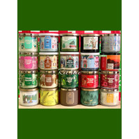 BBW Bath & Body Works Aromatherapy 3-Wick Scented Candle