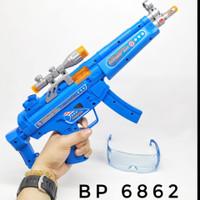 MAINAN ANAK TEMBAK TEMBAKAN COMBAT GUN LAMPU DAN GETAR BP 6862