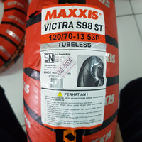 ban motor maxxis nmax 120 70 13 oversize r13