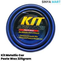Kit Metallic Car Paste Wax 225gram