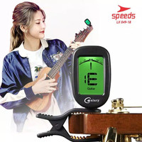 Tuner Gitar Digital Chromatic Clip On Untuk Guitar,Bass,Ukulele 049-18