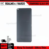 Realme 6 - Narzo - 6 Pro Tempered Glass Spy /Anti Gores Kaca Privacy