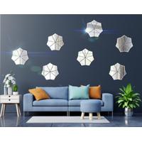 LAYANGAN Hiasan Dinding Acrylic 1Set Isi 4 Kaca Dekorasi Dinding
