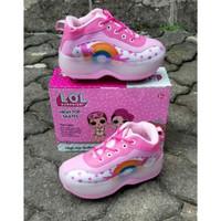 Sepatu Roda Anak Karakter Rainbow