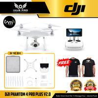 DJI PHANTOM 4 PRO PLUS V2 WITH LCD 5.5INCH GARANSI TAM