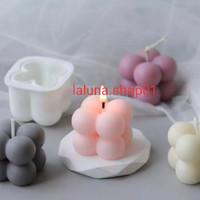 Cetakan Lilin Aromaterapi 3d Bahan Silikon